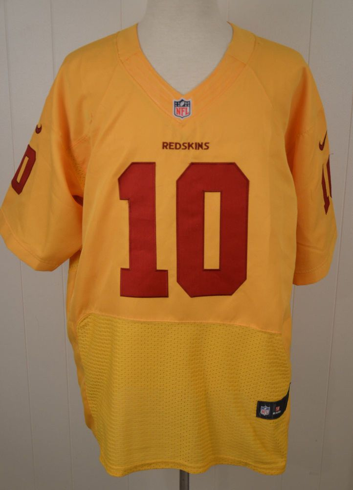 93779ad58 Details about Authentic Nike Washington Redskins Jersey  10 Robert Griffin  III NFL Mens 56 RG3