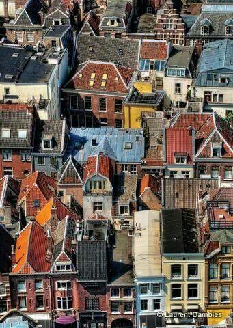 Utrecht, the Netherlands, pinned by Ton van der Veer