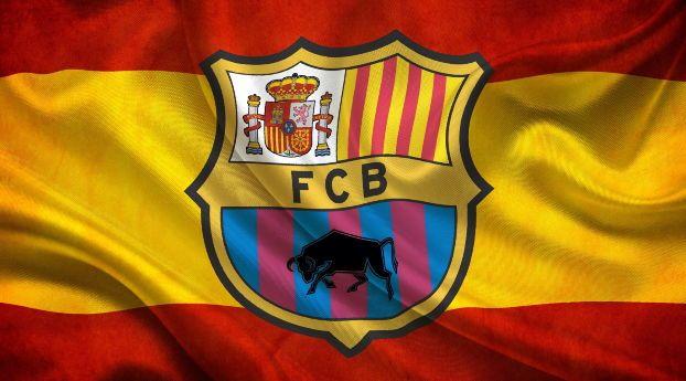 Soccer Flag Fc Barcelona