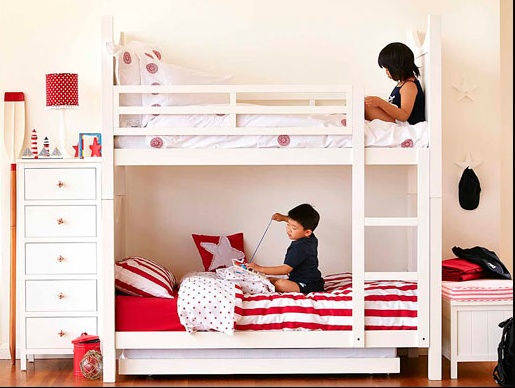 124 best images about shared kids room decor on pinterest built in bunks boy girl room and - Boy and girl shared room ideas bunk bed ...