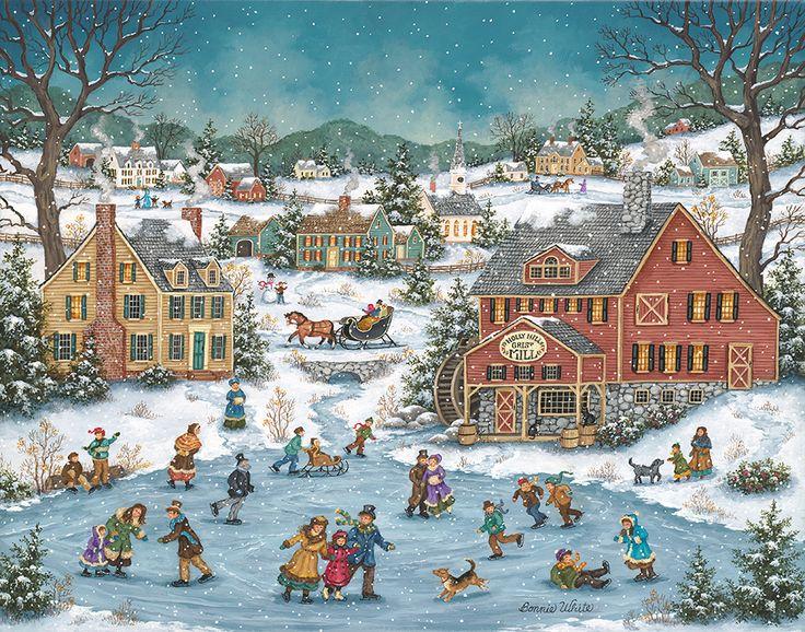 143 best Bonnie White Artist images on Pinterest   Folk art ...