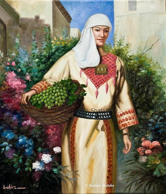 لوحة للفنان التشكيلي ابراهيم شلبي....