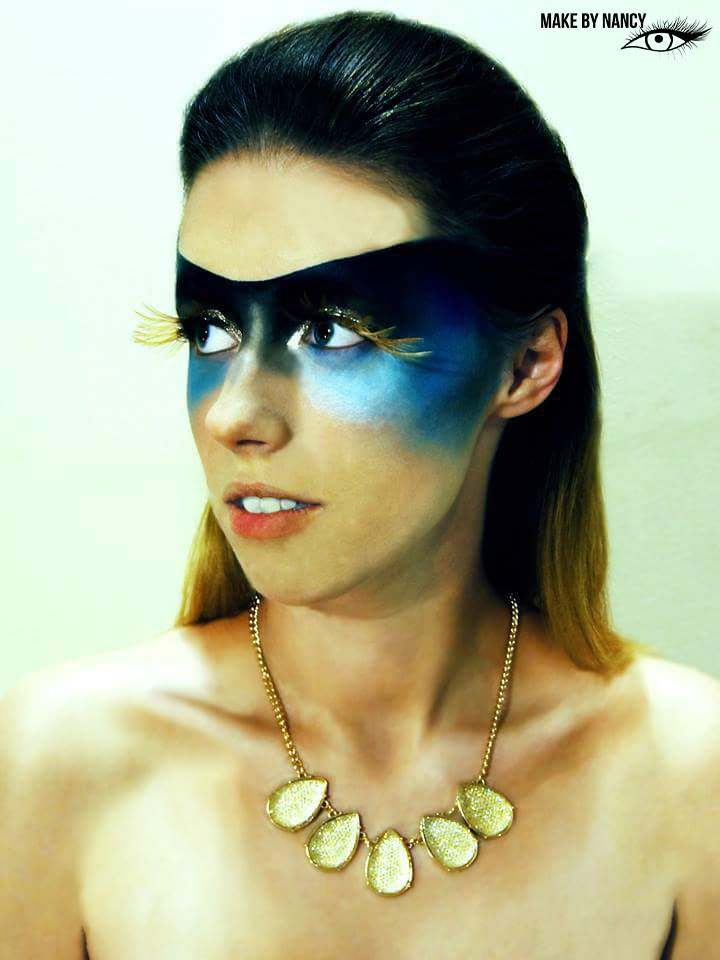 Birdwoman #photoshoot #makeup #art. #makeupartist #highfashion #fashion #makebynancy #birdwoman