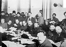 Bolsheviks// were a faction of the Marxist Russian Social Democratic Labour Party (RSDLP) which split apart from the Menshevik faction at the Second Party Congress in 1903.