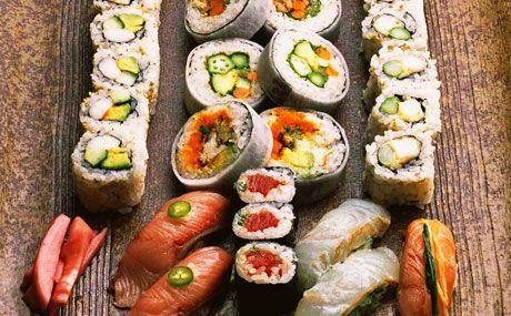 Nobu assorted sushi! Masterpiece!