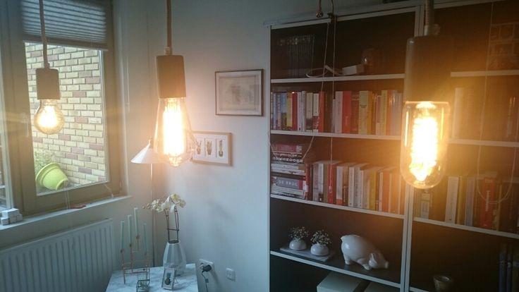 Pretty light bulbs.