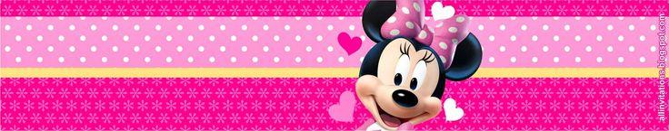 Etiqueta Envase Minnie Mouse