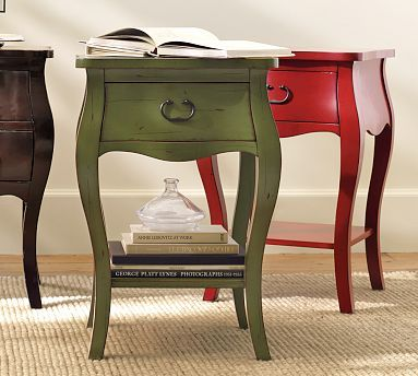 Daniella Bedside Table #potterybarn