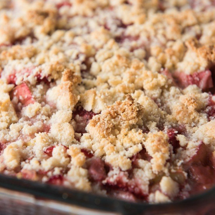 Summer Berry Crisp - Just made this with the blackberries and raspberries I picked and it was delicious!!