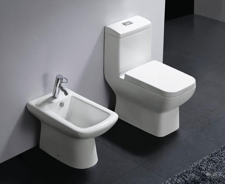 Bathroom Toilets. Trieste Modern One Piece Dual Flush Bathroom Toilet 72 best Toilets images on Pinterest  toilets