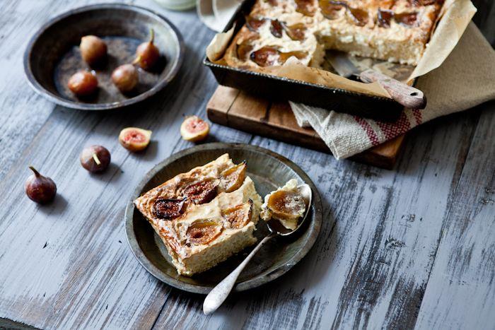 "Fig ""Gateau de Riz"" (Fig Rice Pudding!)Pudding Cake, Rice Puddings, Aux Figues, Coconut Milk, Baking Rice, Figs Rice, De Riz, Gluten Free Recipes, Gateau De"
