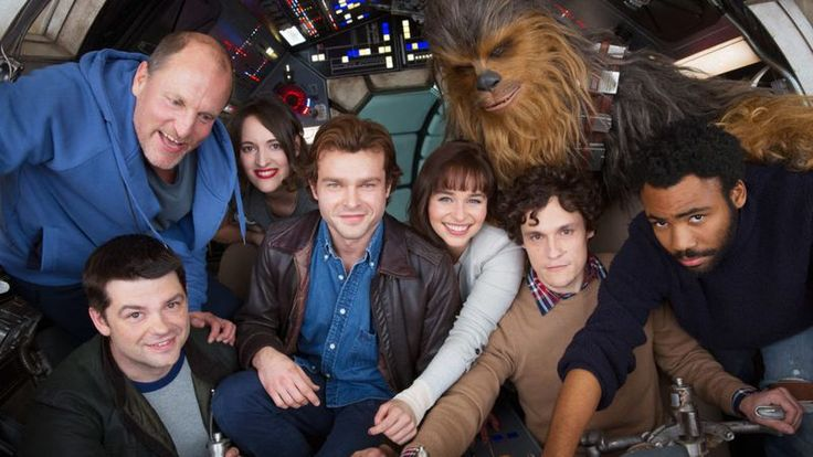 Emilia Clarke under Chewbacca in the Forthcoming Star Wars Han Solo Spin off Movie !!!