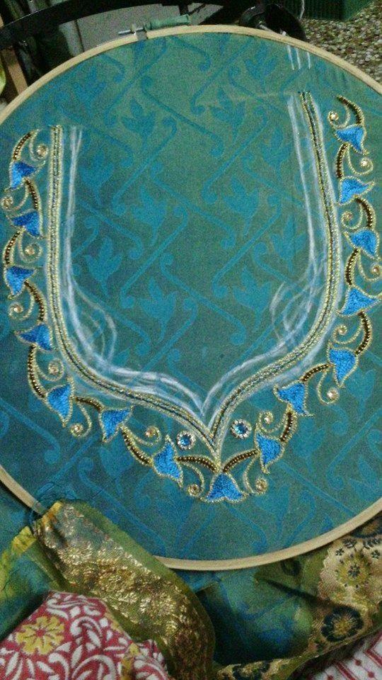 Pin By Chandru On Architecture: SARANYA AARI EMBROIDERY : SRI SAI AARI EMBROIDERY CLASSES