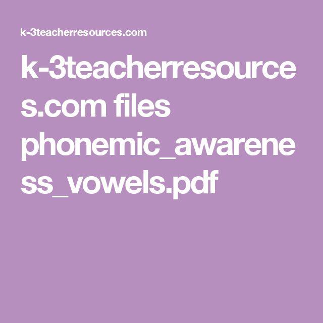 k-3teacherresources.com files phonemic_awareness_vowels.pdf