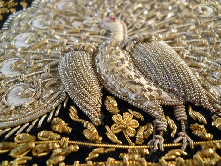 The Fascinating Heritage of Zardozi - Embroidery of India