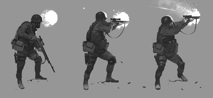 Sniper, Faraz Shanyar on ArtStation at https://www.artstation.com/artwork/sniper-de76fd51-f47a-40d1-851d-7d095c79c747
