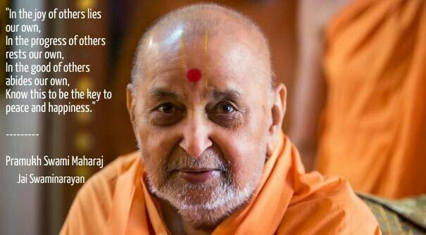 Hinduism Quote by Pramukh Swami Maharaj. The fifth successor of Bhagvan Swaminarayan and spiritual leader of BAPS Swaminarayan Sanstha, the main sect in Hinduism. #hinduism #india #quote