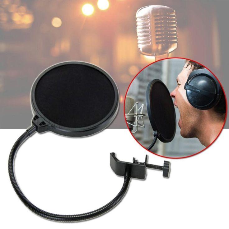 เสนอสินค้าราคาพิเศษ<SP>Elit สตูดิโอไมโครโฟน Studio Microphones Mic Pop Filter Mask Shield Protection - Black++Elit สตูดิโอไมโครโฟน Studio Microphones Mic Pop Filter Mask Shield Protection - Black (23 รีวิว) ใช้ต่อยึดกับขาไมค์ในการการบันทึกเสียง ช่วยกันน้ำลาย กรองเสียงลมกระแทกกับไมค์ ใช้ร้องเพลงหรือบันทึกเสียง ...++