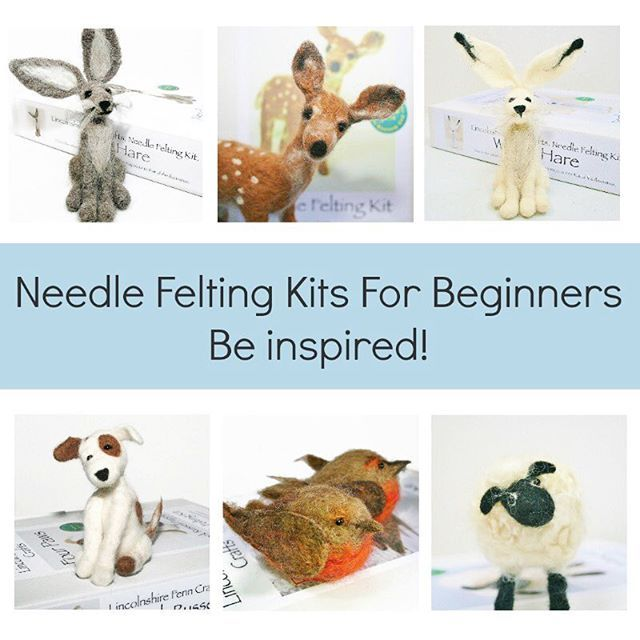 As the cooler weather approaches why not snuggle up with a needle felting kit. 19 to choose from. Link to Etsy in the bio or just pop over to the Lincolnshire Fenn Crafts website for a nosey. Featured on the Channel 4 series, @craftityourselftv No sewing, tricky patterns or fancy equipment. Just add enthusiasm! And yes, I did say no sewing! #craftityourself #craftersofinstagram #craftlove #craftinspiration #craftaddict #needlefelting #needlefeltingkit #needlecraft #feltsculpture