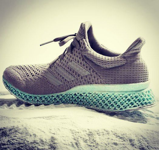 Adidas Attempt At 3d Printing A Trainer Upper Made Using