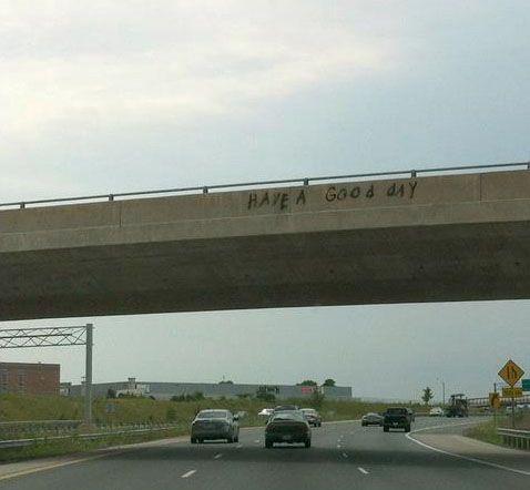 """""""Canadian graffiti."""""""