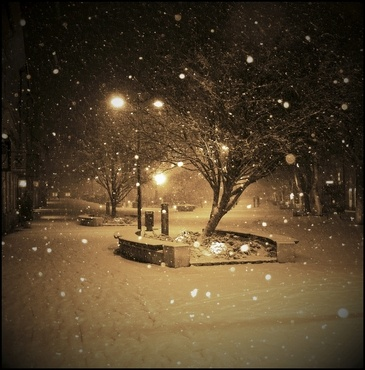 winter in Szombathely