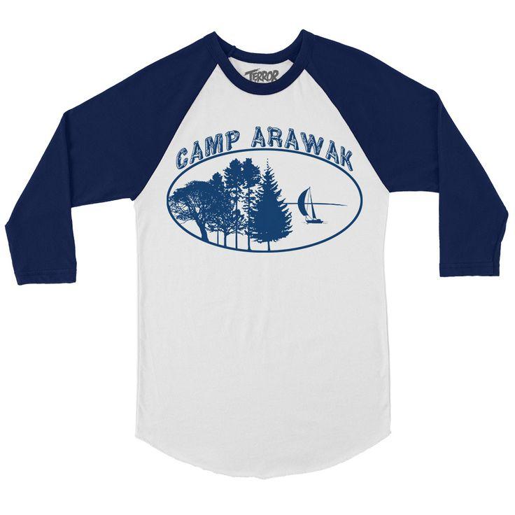Sleepaway Camp Camp Arawak Baseball T-Shirt