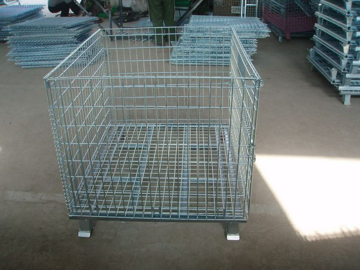 Metal Wire breakdown pallets! For more information regarding our metal fabrications, please visit http://www.tfgusa.com/products_metal_fab.php