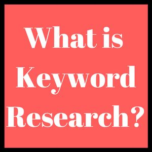 Let us discuss #KeywordResearch once again.