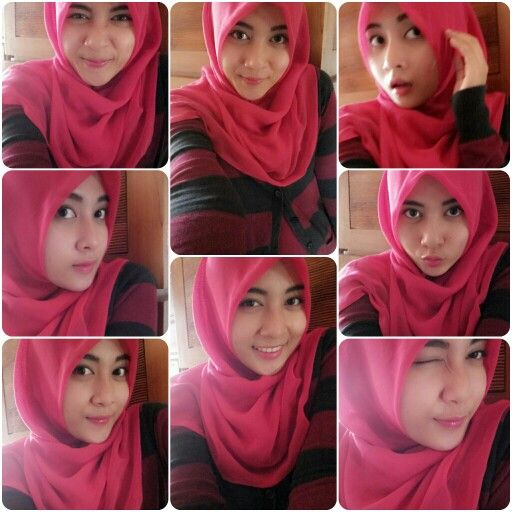 red paris hijab