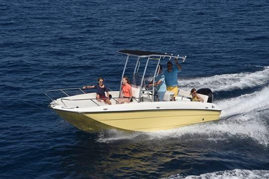 L'Element CC7 de Bayliner, console centrale pour la pêche ou la croisière                                                                                                                                                                                 Plus