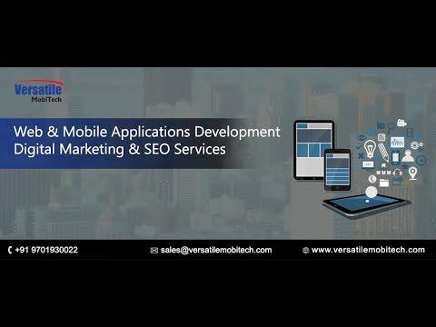 Mobile Applications And Web Development Services - Versatile Mobitech Pv...