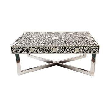 Coffee Table Bone Inlay From Sheherazade LOVE