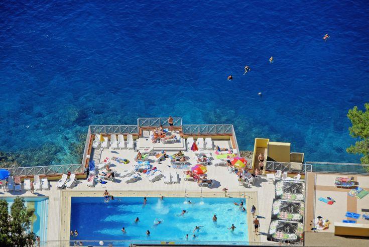 Appartement direct aan het strand in Kroatië.