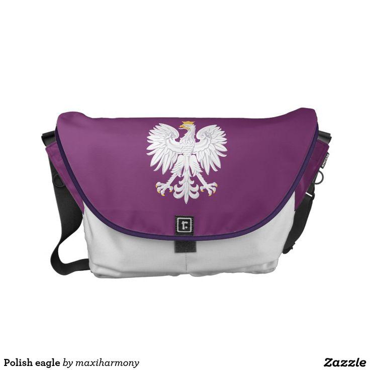 Polish eagle courier bag