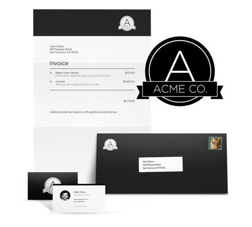 Mer enn 25 bra ideer om Logo design contest på Pinterest Logoer - invoice logo
