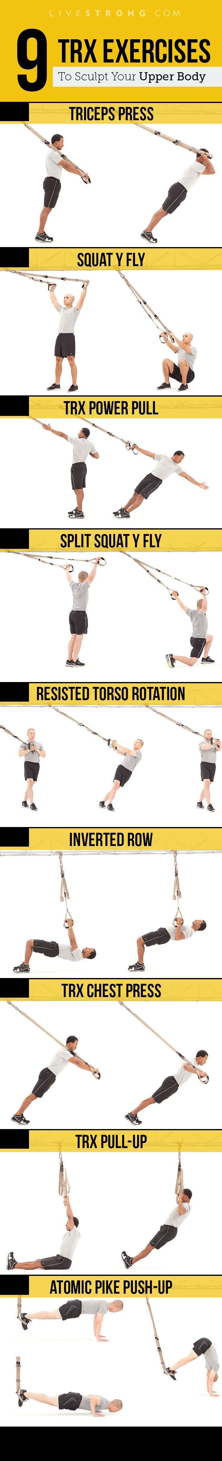 Get ripped with TRX.