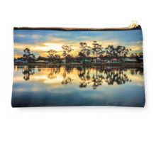 Sunset Reflections at Lake Neangar - Eaglehawk, Victoria Studio Pouch