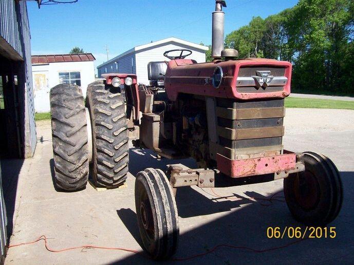 MASSEY-FERGUSON 1100 | Massey Pictures | Pinterest | Tractor