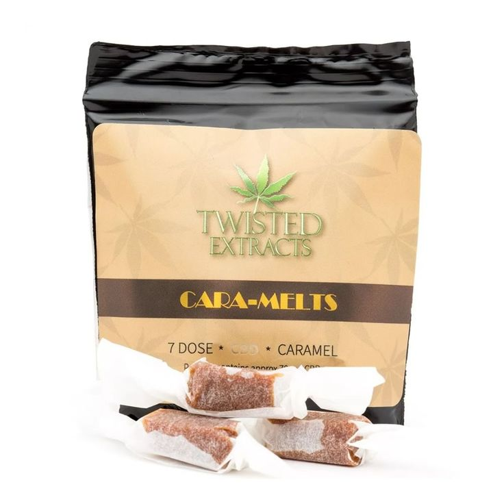 $16.99 Caramel and Cannabis are flavours that compliment each other. Together, they provide a consistent and reliable delivery system for ingested cannabis. #twistedextracts #cbdcaramels #cbdedibles #edibles #onlinedispensary