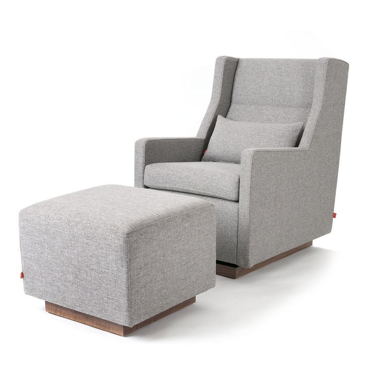 Best looking glider I've seen: Sparrow Glider & Ottoman | Ottomans | Gus* Modern