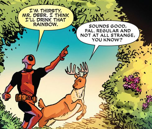 Deadpool =awesomeness.