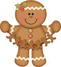 dibujos de galletas de jengibre navideñas - Buscar con Google