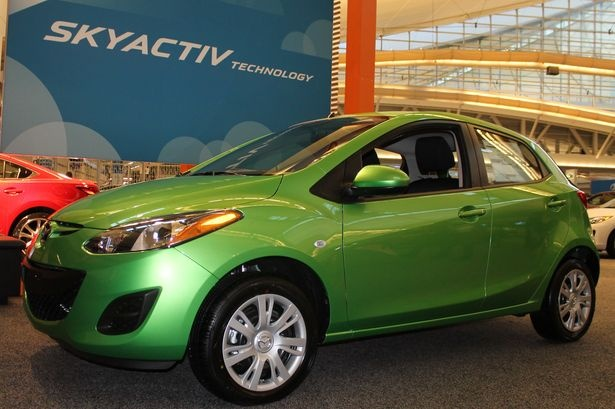 2013 Mazda 2 Sport. #PghAuto Show 2013