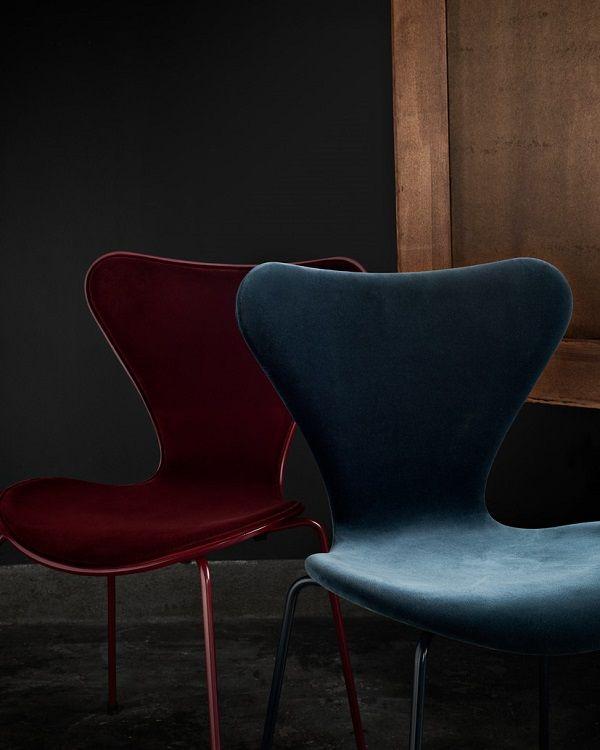 La sedia Serie 7 si veste di velluto - Interior Break