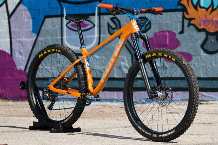 Kona Dream Builds Chuck Passe S Radient Big Honzo Hardtail