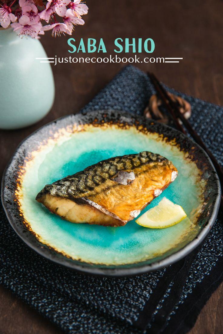 Grilled Mackerel (Saba Shioyaki) 鯖の塩焼き | Easy Japanese Recipes at JustOneCookbook.com