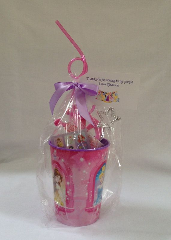 Disney Princess Party Favor by Nine17Designs on Etsy, $7.50