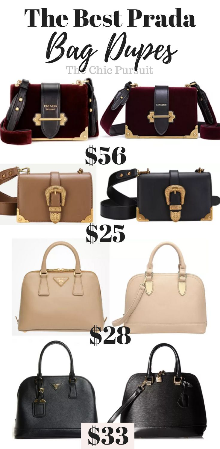 The Best Prada Bag Dupes For Under  70! Get The Luxury Look For Less ... b3b602d0c0