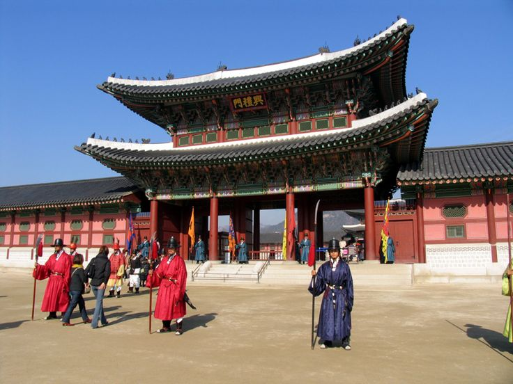 Seoul, Korea Palace, long plane ride to visit my son while he was stationed there.